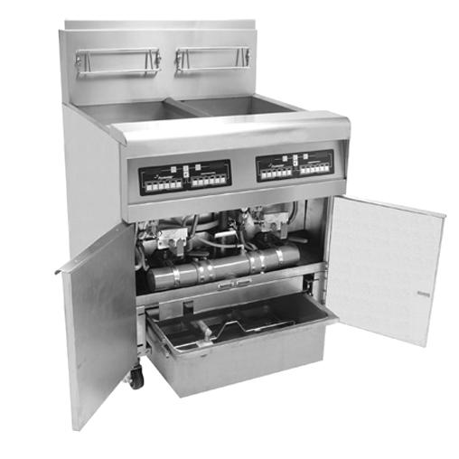 freidora con sistema de filtrado